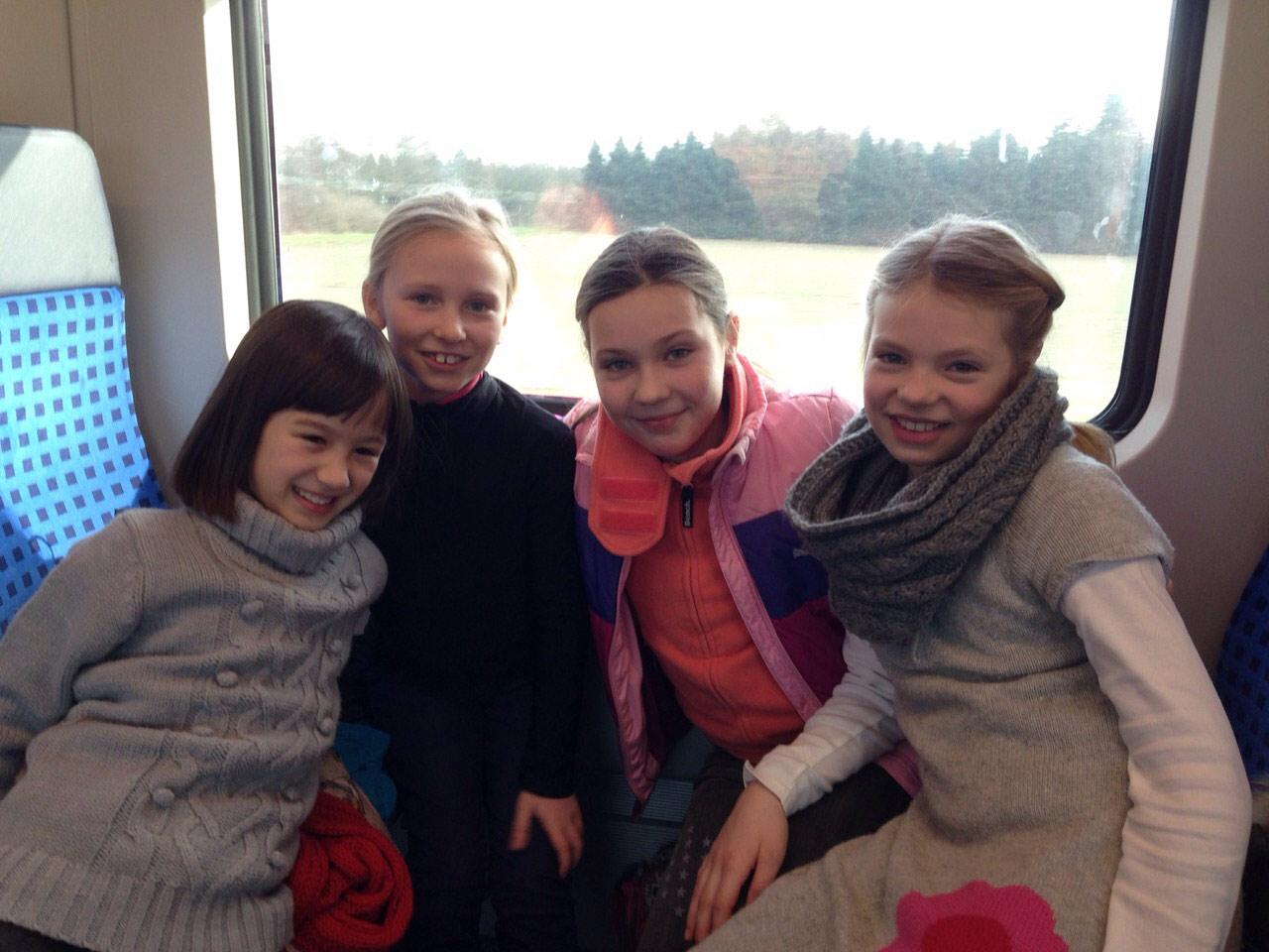 2015 RSC Ausflug Holiday on Ice – Bahnfahrt